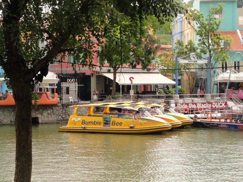 Tourist barges