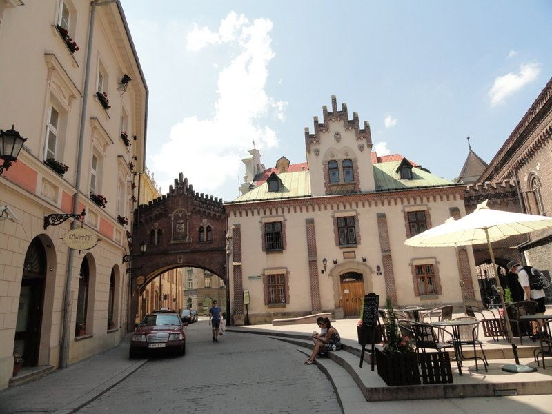 Buildings near St Florian's gate