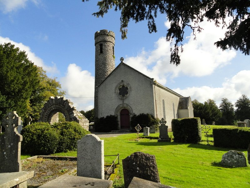 St James's Church of Ireland with Round Tower