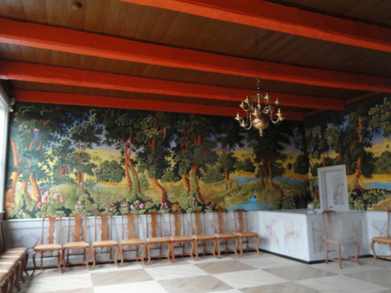 Wall decorations, the Mayor's House