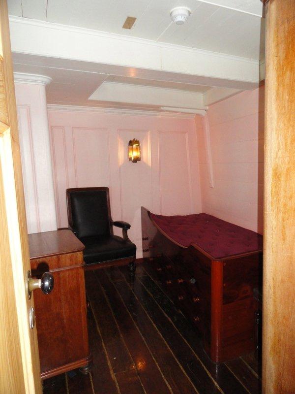 Commander's cabin