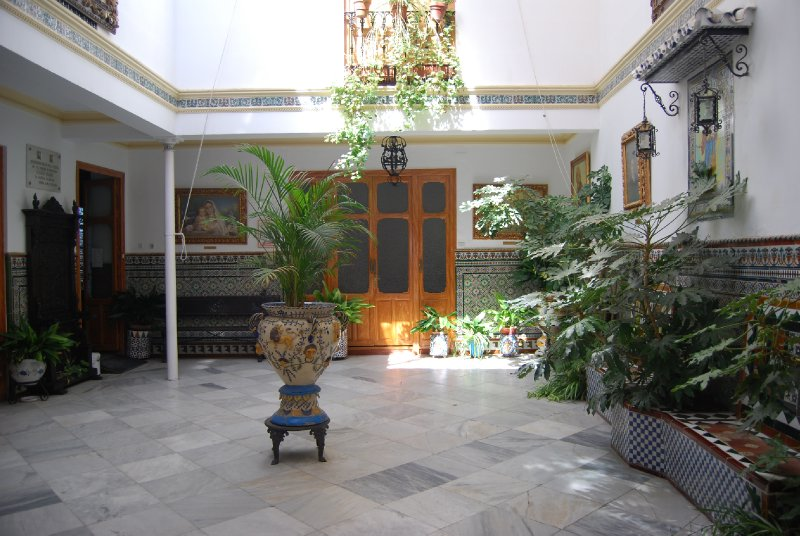 Interior of house of St John Bosco