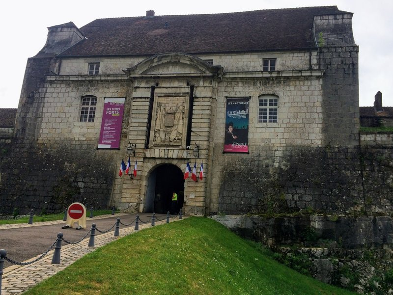Entrance to The Citadel of Besançon