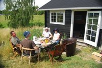 Lunch at Steen's summer house