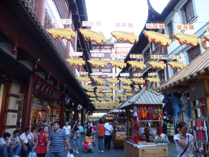The YuYuan markets
