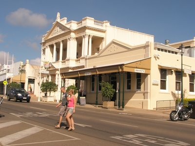 old building in Charters Towers