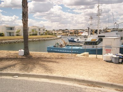 Port Lincoln harbour mooring