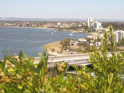 A beautiful city Perth