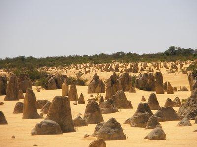 Limestone stucture