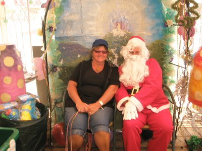 Santa visited Port Broughton
