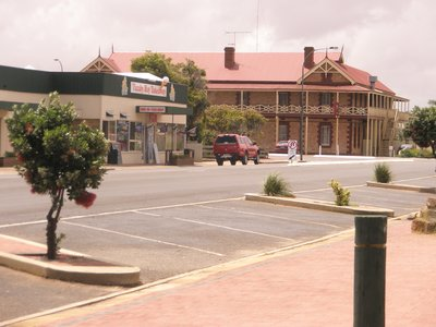 Tumby Bay Hotel in the main street