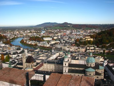 View over Salzburg