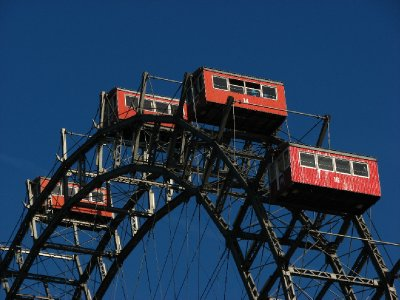 Ferris wheel gondolas