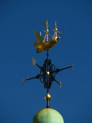 Weathervane atop Trinity House