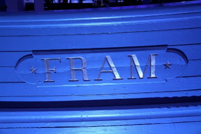 Fram nameplate