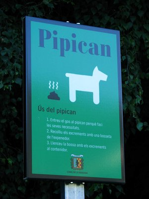 Another (rival?) dog dirt disposal point