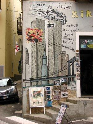 9/11 mural