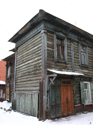 Wooden building