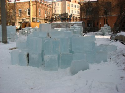 Ice blocks