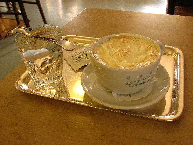 Melange coffee