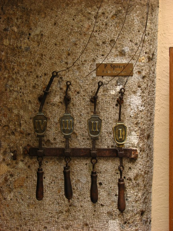 Old door bells (?)