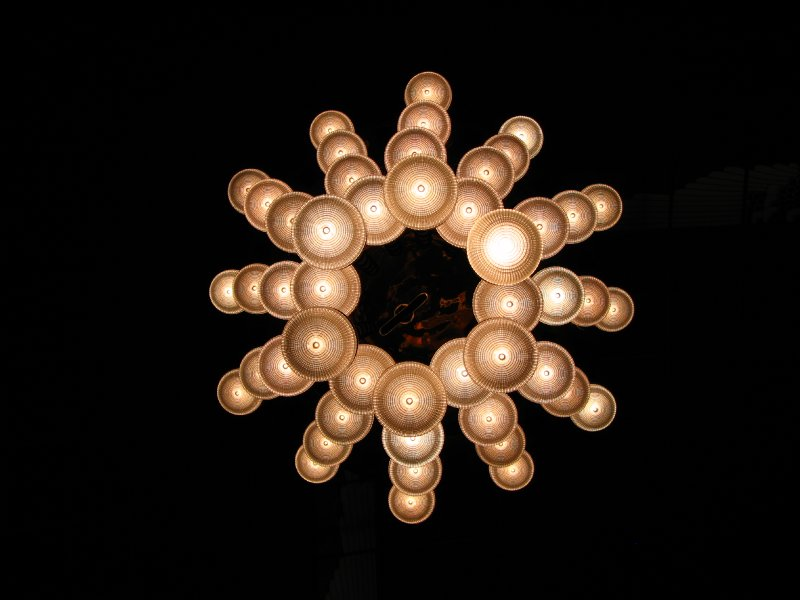 Chandelier from below
