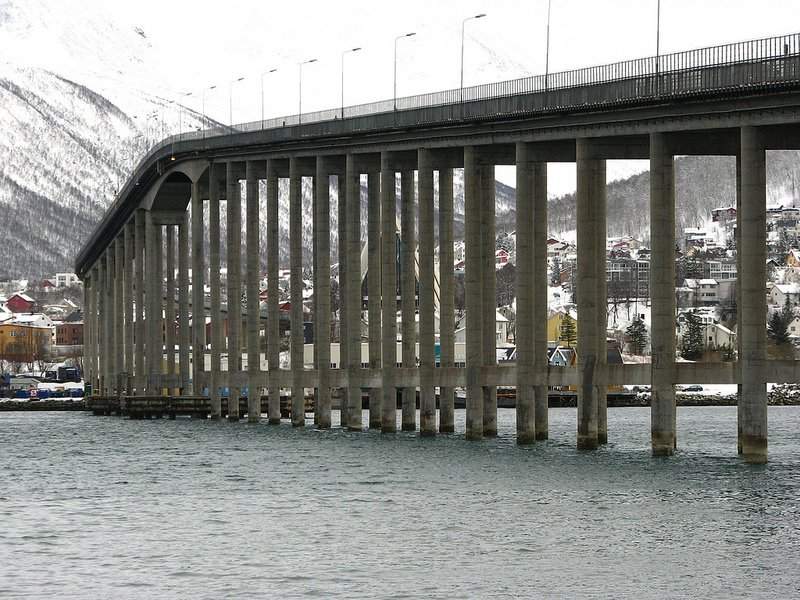 Tromso Bridge (Tromsobrua)