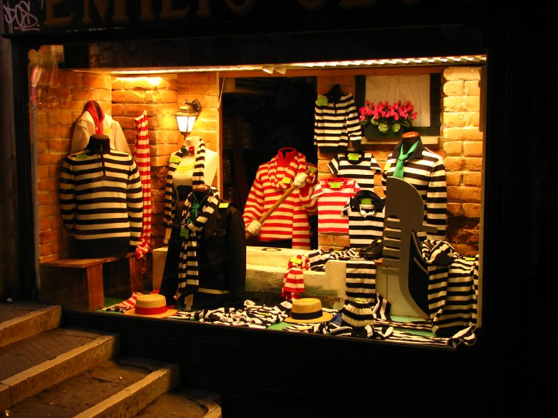 Gondolier clothing store