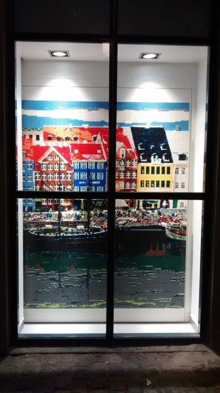 Nyhavn in Lego