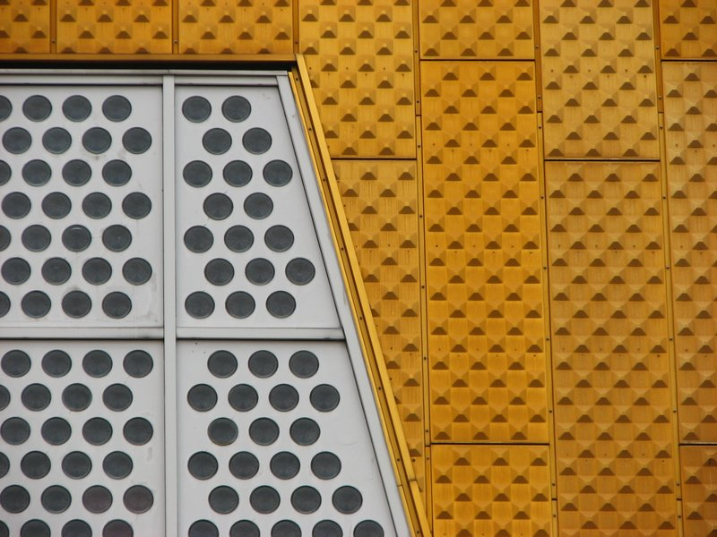 Berliner Philharmonie detail
