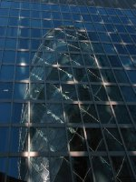 Reflection of 30 St Mary Axe
