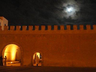Essaouira's medina walls