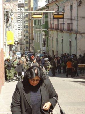 Politie in La Paz