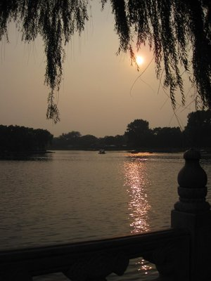 Houhai Sunset