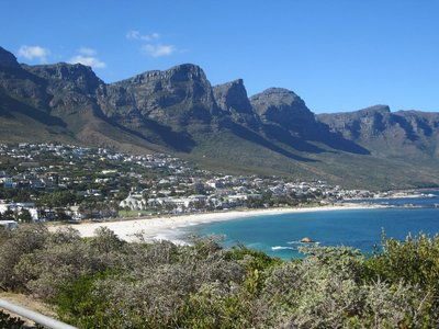 View from Camps Bay High!
