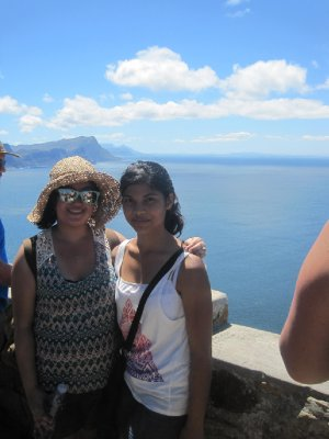 At The Top of Cape Point Peak