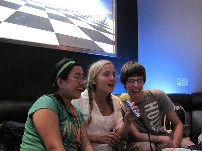 Singing at KTV
