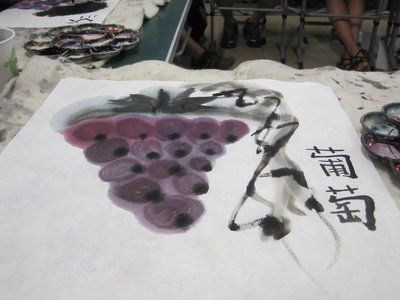 My Grapes Painting