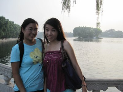 Me and Angelique at Houhai