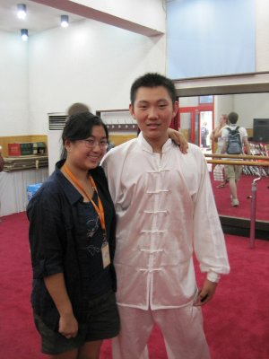 "Me and ""Shuai Zhu"""