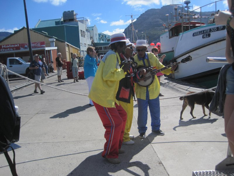 Street Performers in Cape Town