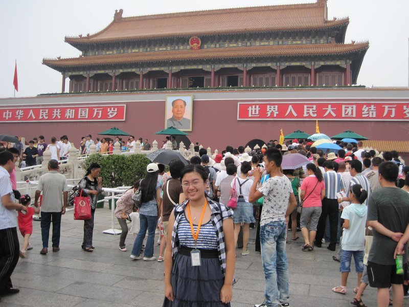 At Tianamen Square