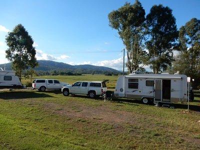 Cruice Park rest area camp