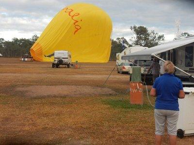 Mareeba Balloon Landed