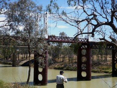 Historic 'Lift Bridge' North Bourke, NSW