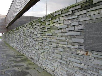 memorial at Culloden Visitors' Centre