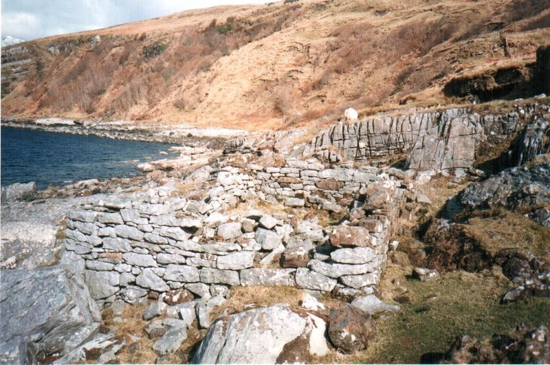 ruins at Elgol