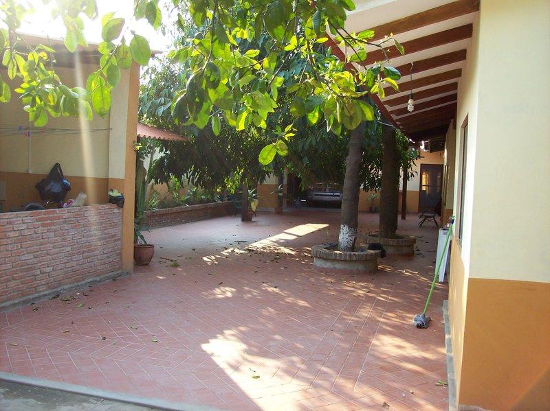 Sanchez house courtyard!