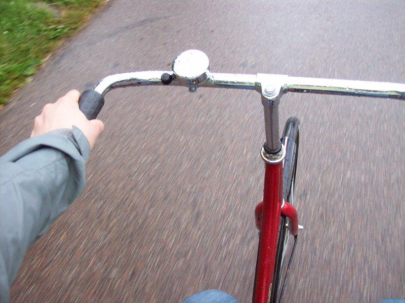 Look at me, biking like a local!