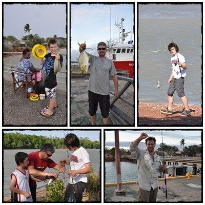 fishing at Wepia
